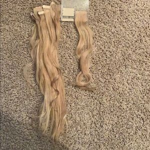 Human Remy hair extensions!